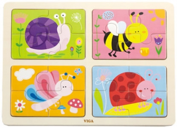 Viga 4 Puzzle In 1 Insect
