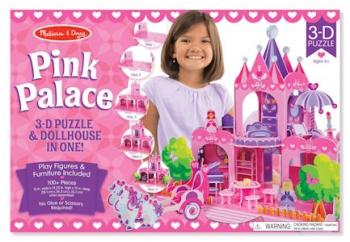 Melissa & Doug 3D Pink Palace
