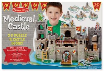 Melissa & Doug 3D Medieval Castle