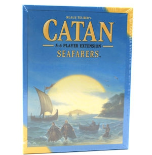 Catan: Seafarers 5-6 Player Extension Board Game