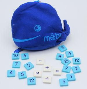 Mobi Math Tiles Board Game
