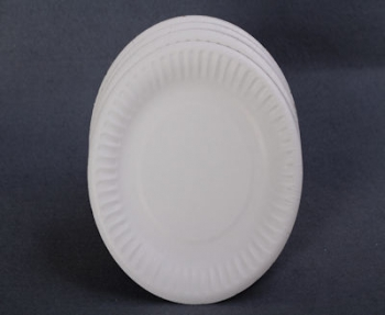 180 mm White Paper Plate (100)
