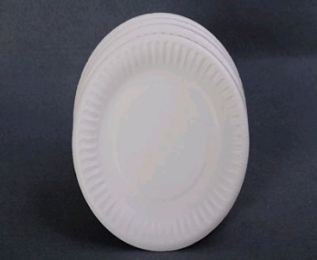 180 mm White Paper Plate (25)