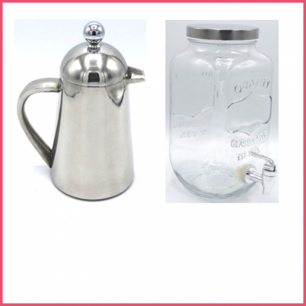 Coffee Plungers / Beverage Dispensers